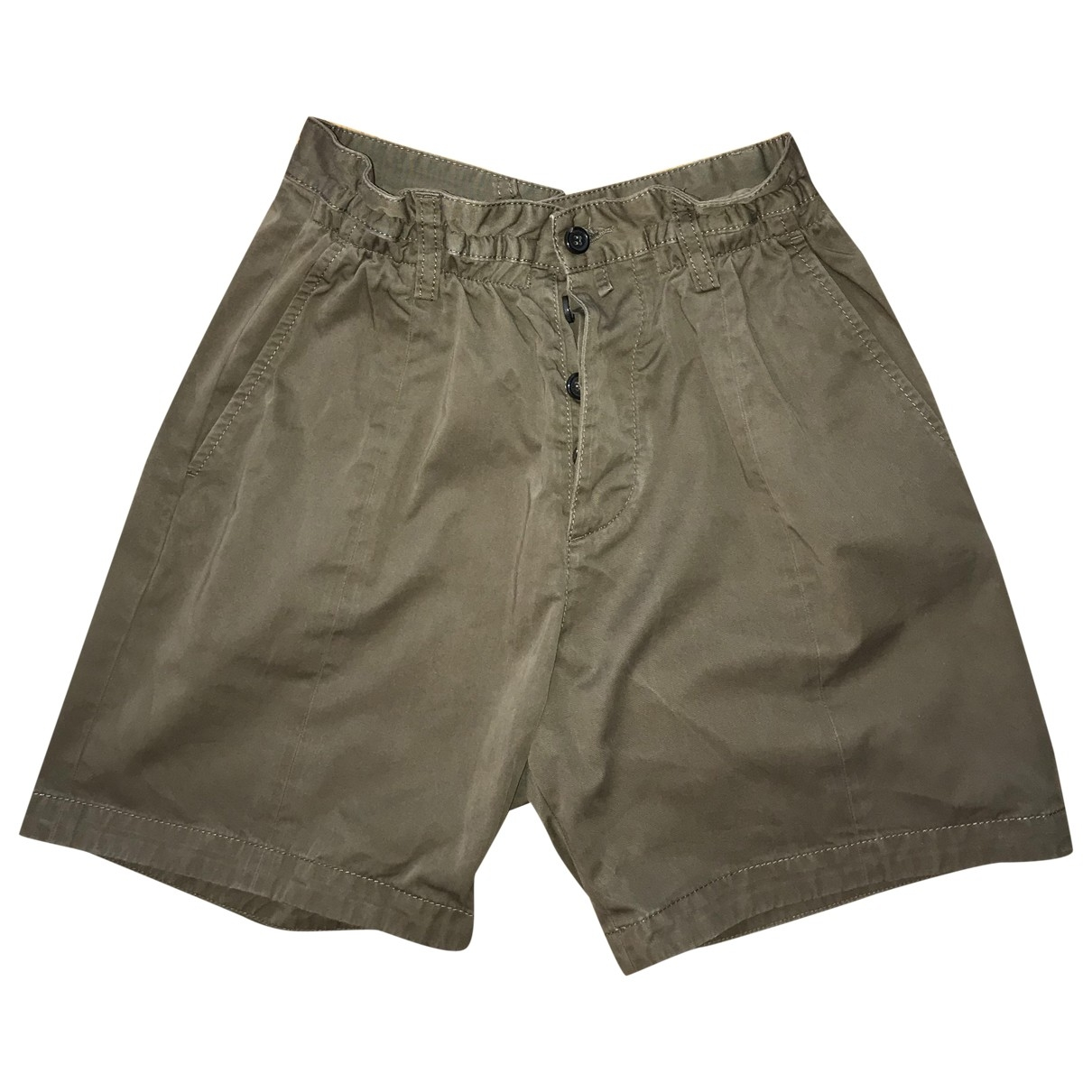 Dsquared2 \N Green Cotton Shorts for Men 40 FR