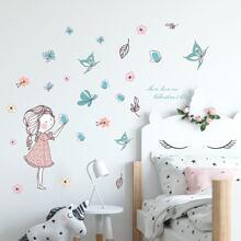 1sheet Cartoon Wall Sticker