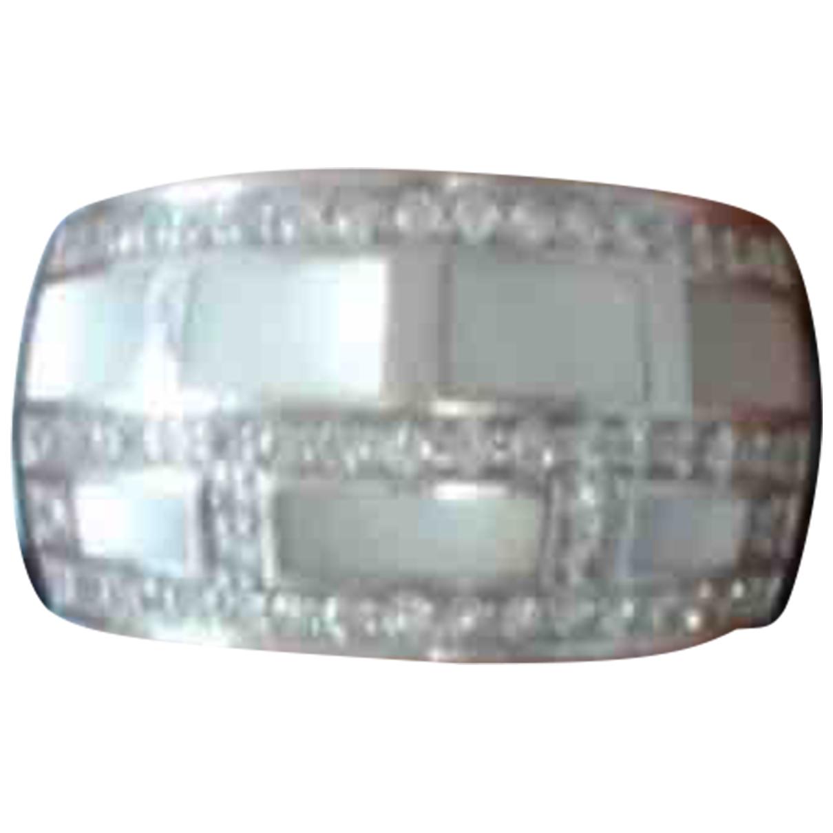 Mauboussin \N White White gold ring for Women \N