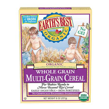 Earth's Best Organic Mixed Grain Cereal Original - 8.0 oz