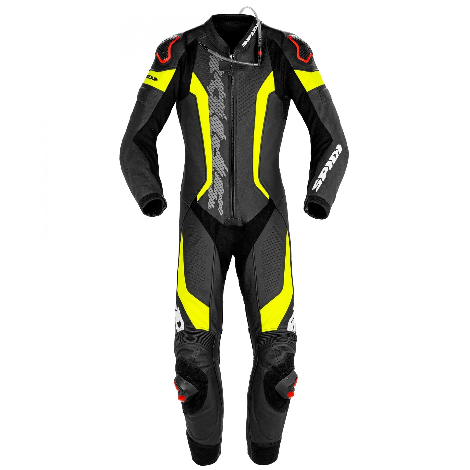 Spidi Laser Pro Perforated Black Fluo Yellow 1 Piece Racing Suit 54