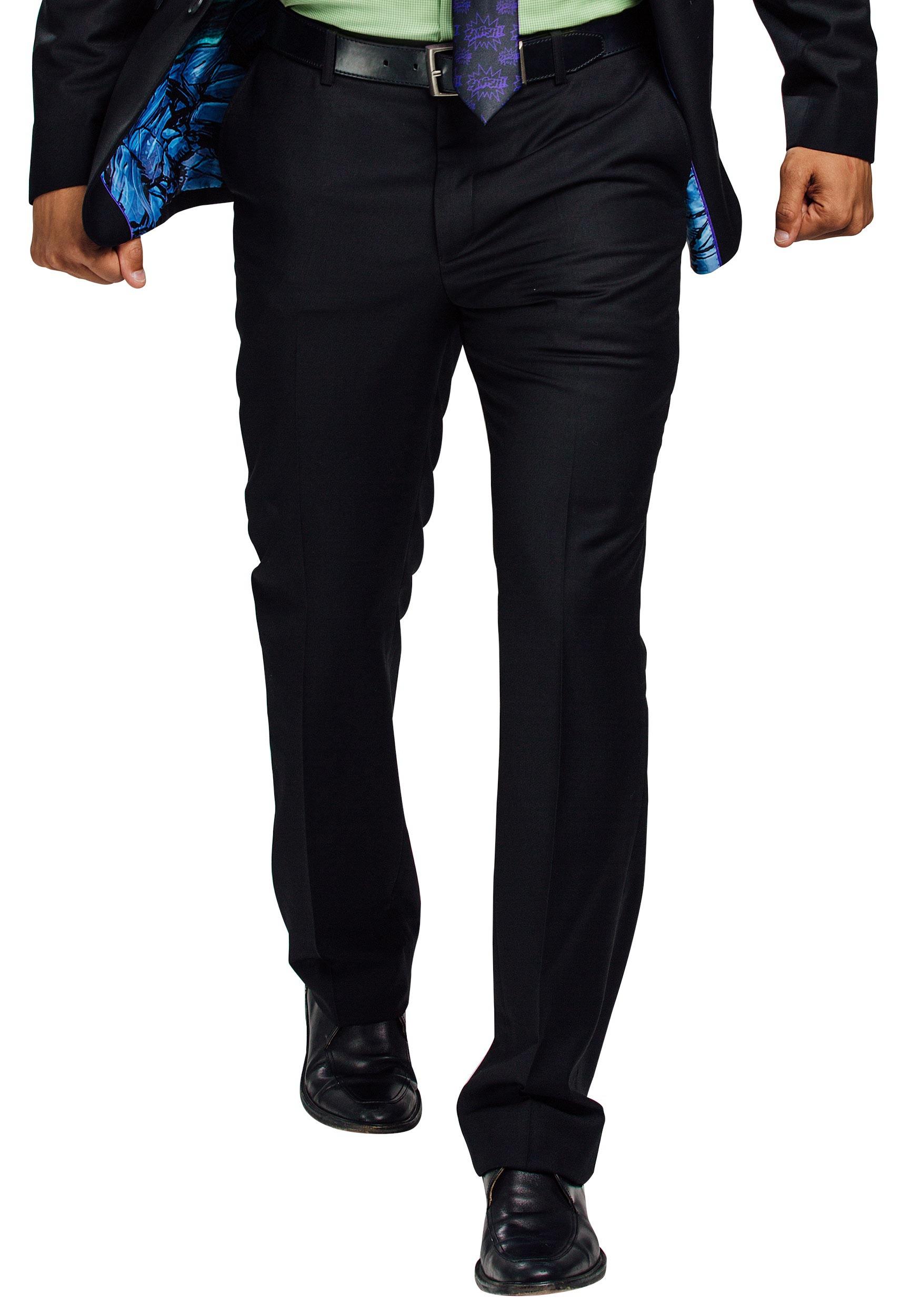 Secret Identity Incredible Hulk Slim Fit Suit Pants