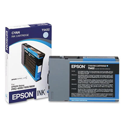 Epson T543200 cartouche d'encre UltraChrome originale cyan