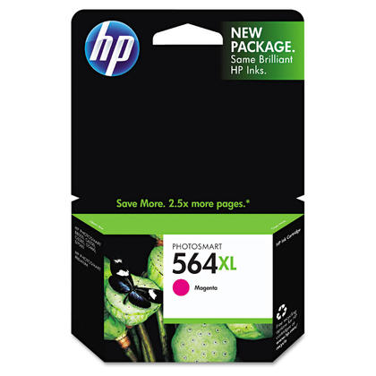 HP 564XL CB324WN Original Magenta Ink Cartridge High Yield