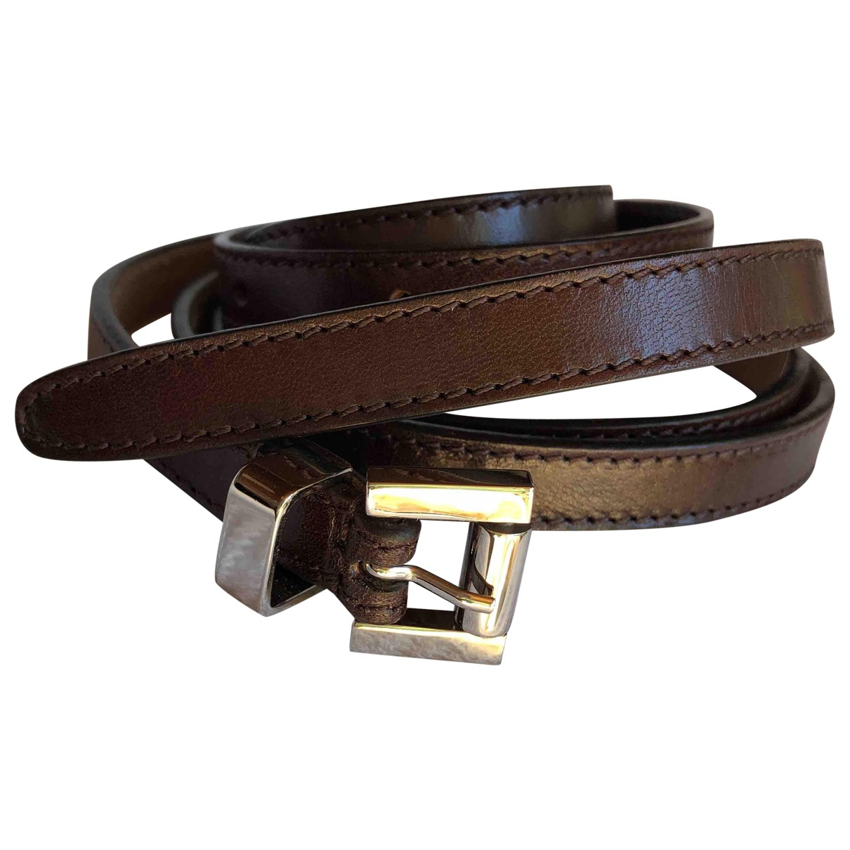 Michael Kors \N Brown Leather belt for Women L International