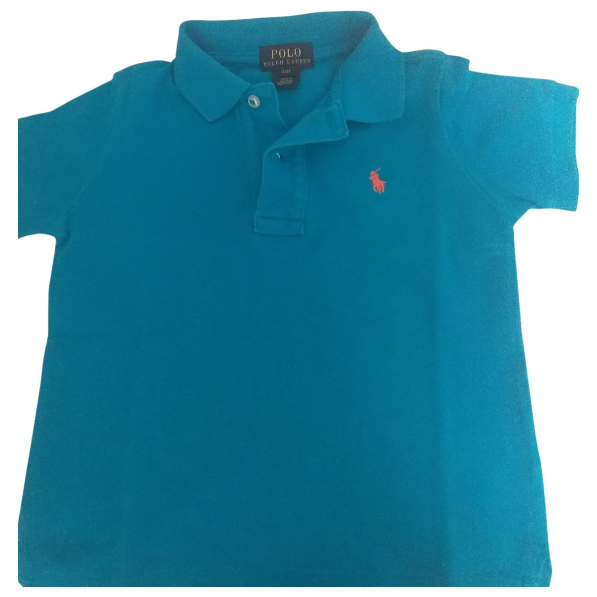 Polo Ralph Lauren \N Blue Cotton  top for Kids 2 years - up to 86cm FR