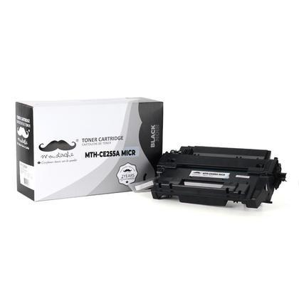 Compatible HP 55A CE255A MICR cartouche de toner noire - Moustache®