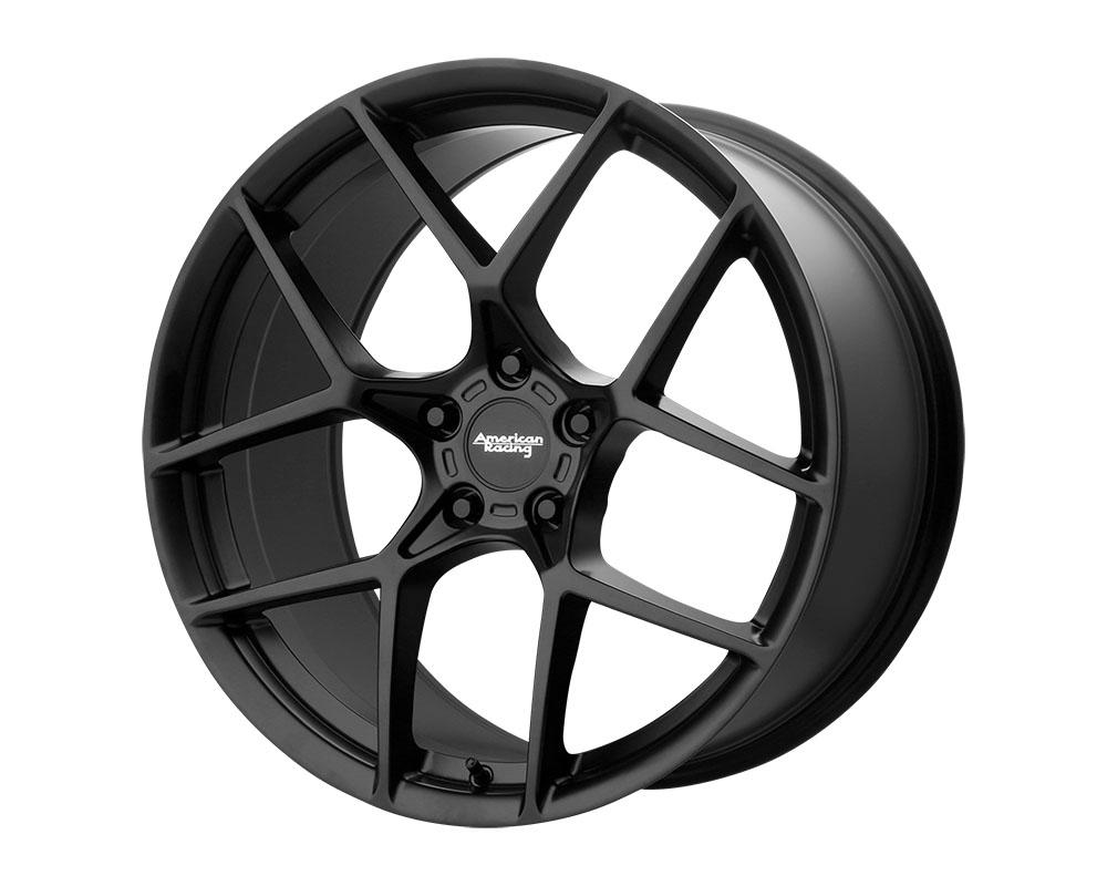 American Racing AR924 Crossfire Wheel 20x9 5x5x114.3 +35mm Satin Black
