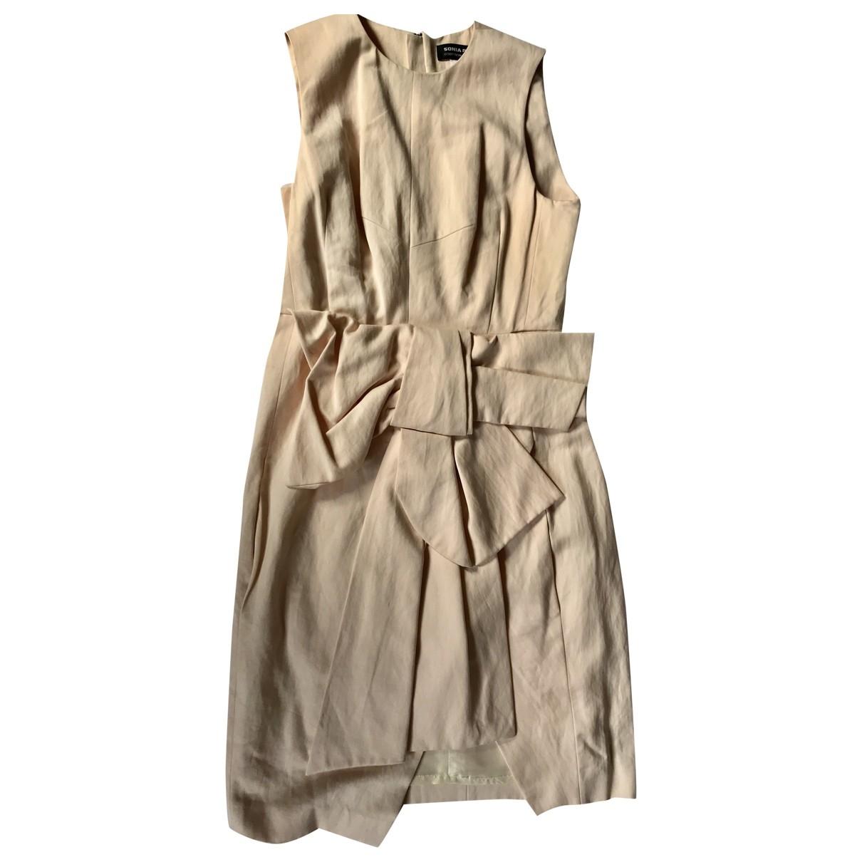 Sonia Rykiel \N Pink Cotton dress for Women 40 FR