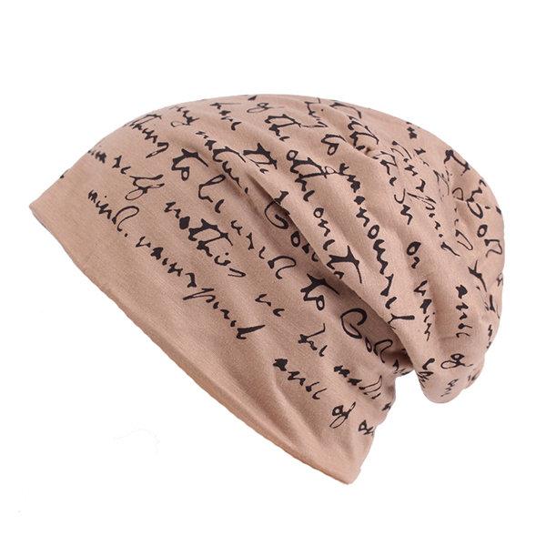 Men Autumn Warm Cotton Beanie Cap Casual Soft Breathable Skullies Knit Hat