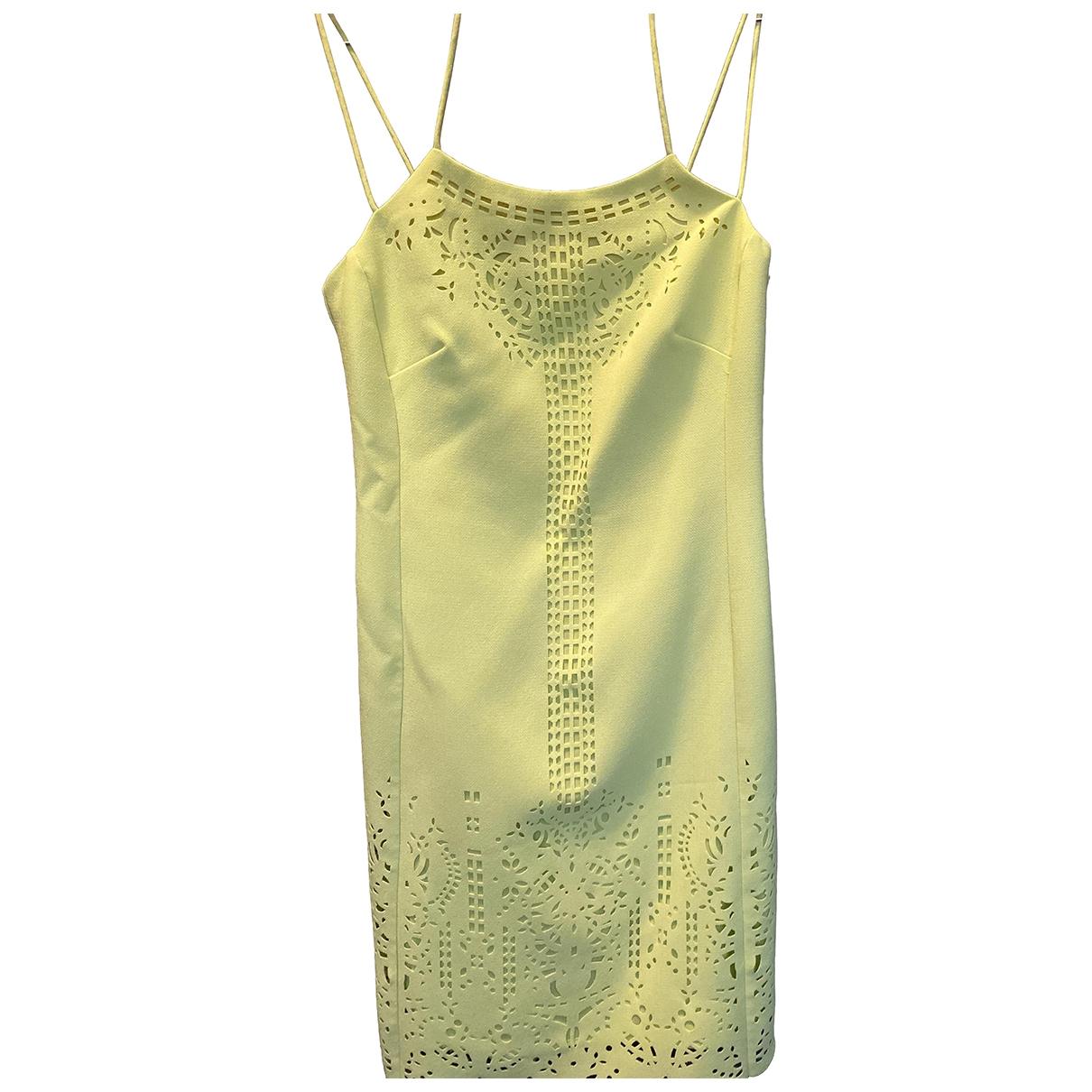 Karen Millen \N Yellow dress for Women 38 FR