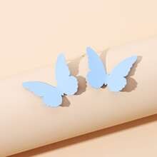 Butterfly Shaped Stud Earrings