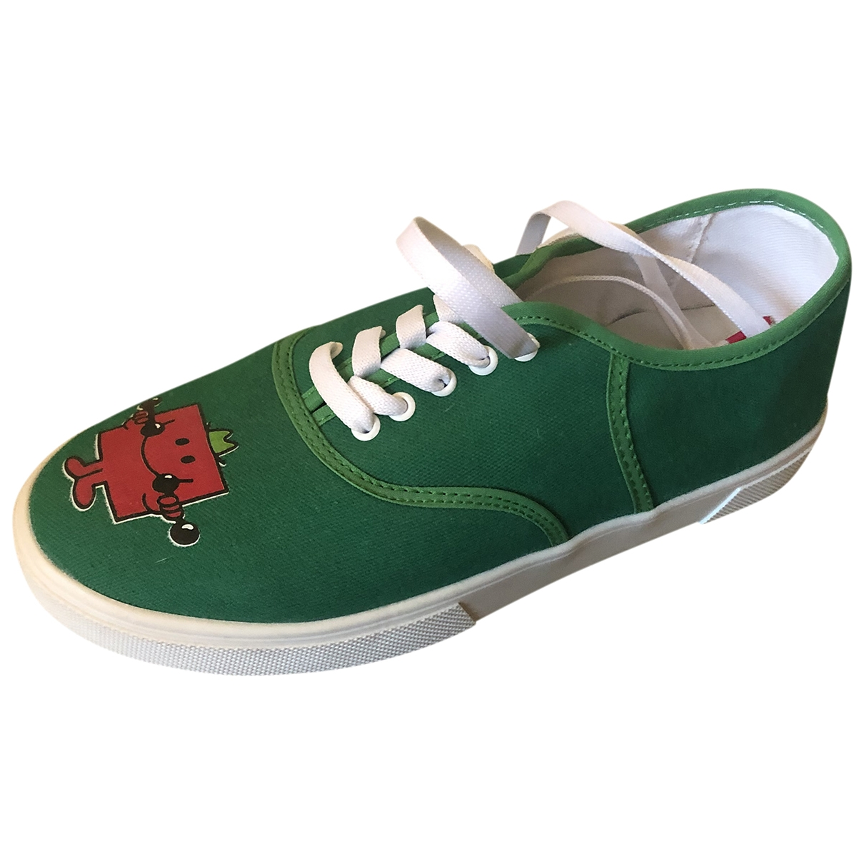 Twins For Peace \N Green Cloth Trainers for Women 36 EU