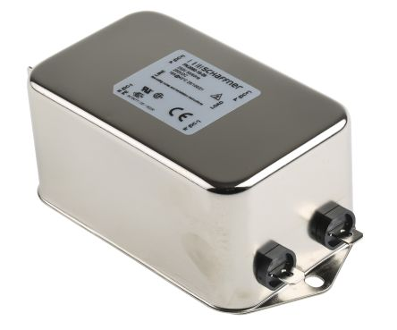 Schaffner , FN2090 16A 250 V ac 0 → 400Hz, Chassis Mount RFI Filter, Tab