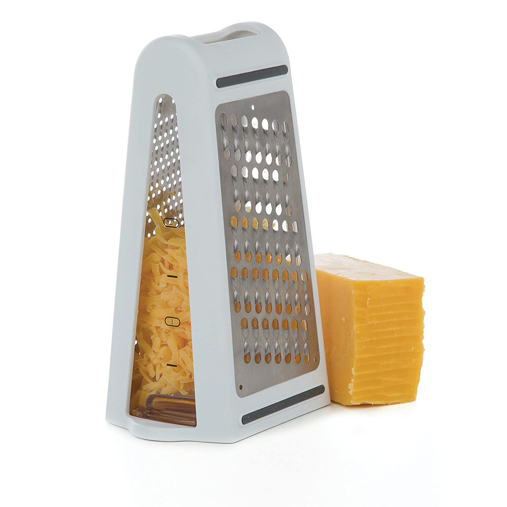 Kitchen Mini Vegetable Cheese Grater Potato Double-sided Grater Stainless Steel Grater for Cheese Vegetables