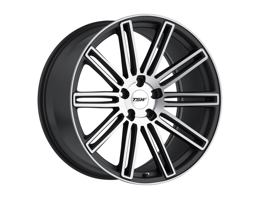 TSW Crowthorne Wheel 20x8.5 5x114.30 20mm Matte Gunmetal w/Matte Machine Face