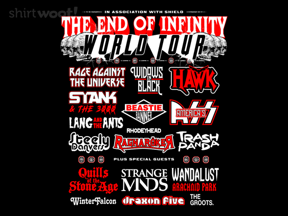 End Of Infinity T Shirt