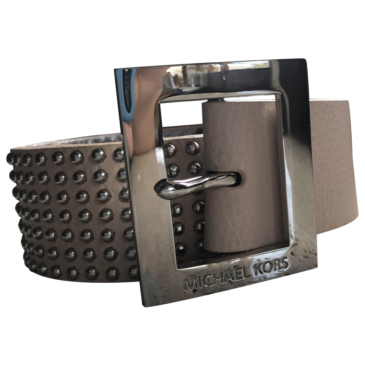 Michael Kors \N Beige Leather belt for Women L International