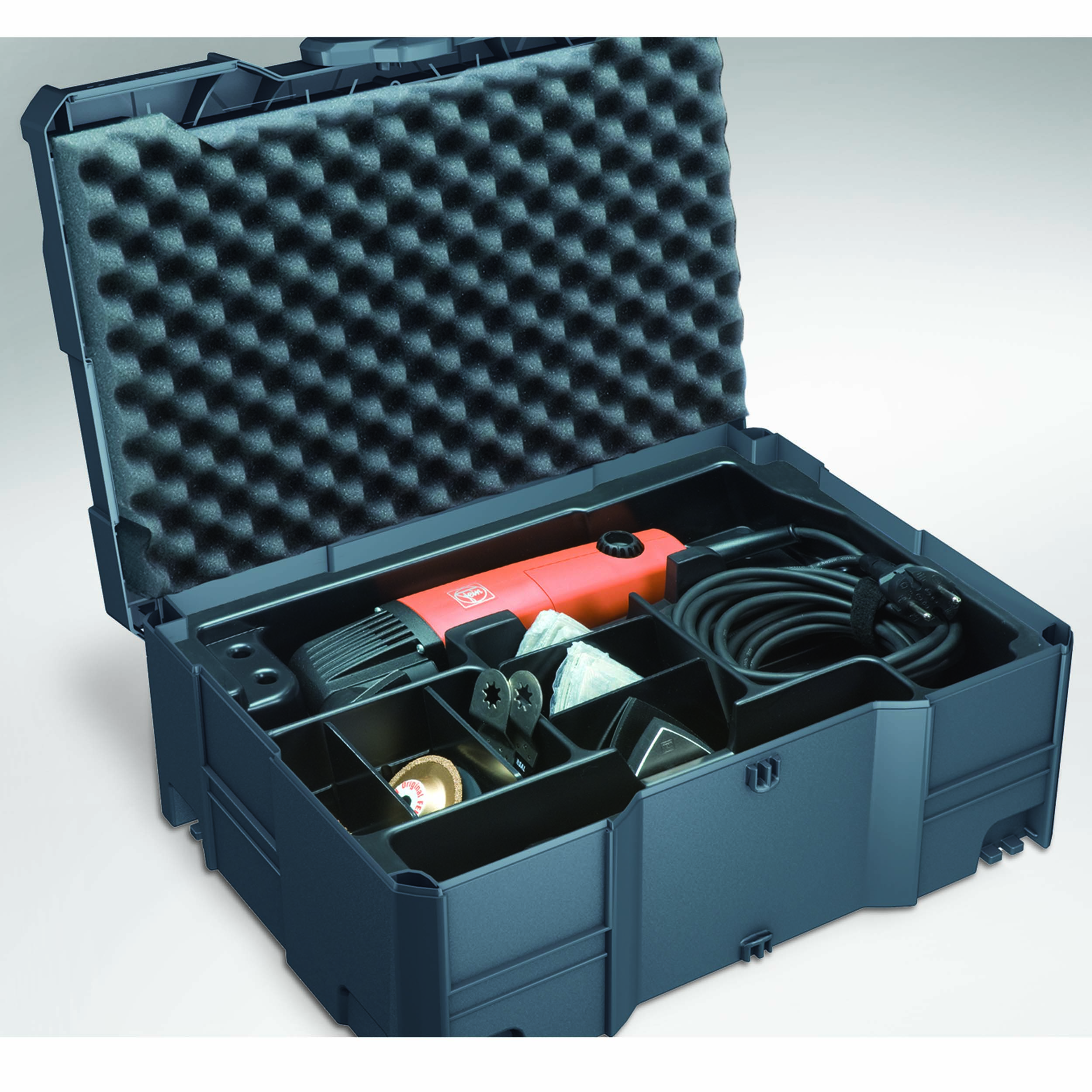 Systainer T-Loc II for FEIN Multimaster with Insert, Lid and Base Foam, 15 mm Anthracite