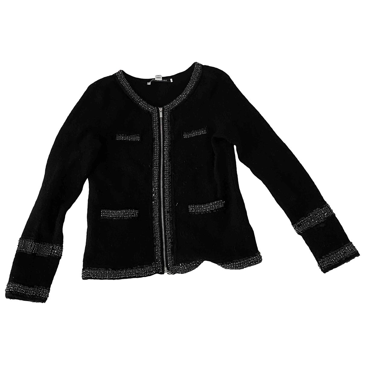 Diane Von Furstenberg \N Black Wool Knitwear for Women M International