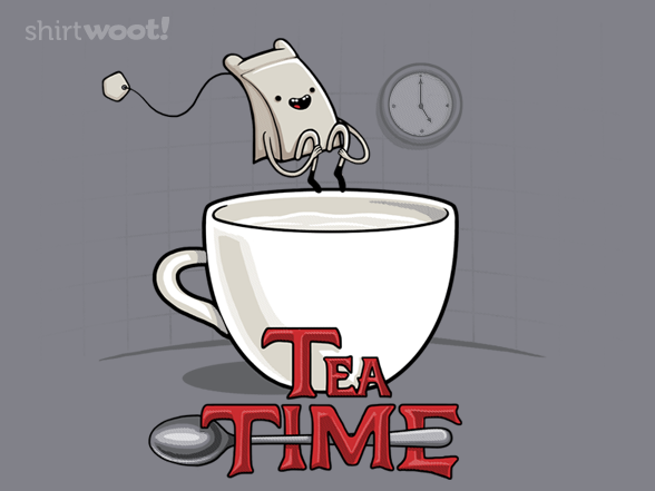 Tea Time T Shirt