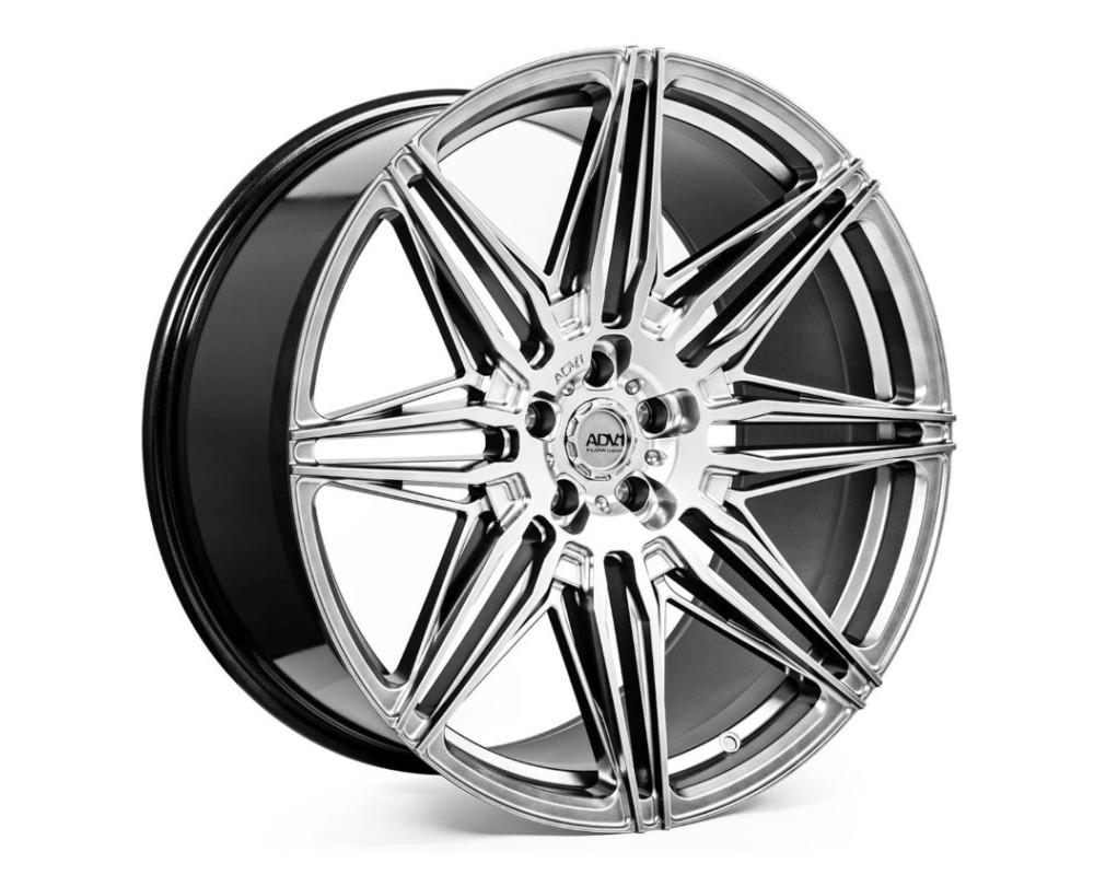 ADV1 ADV08 Deep Concave Wheel 22x10.5 5x130 30mm Platinum Black