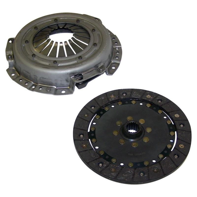 Crown Automotive 52104289AE Jeep Replacement Clutch Kit for 03/04 Jeep TJ Wrangler w/ 2.4L Engine; Includes Plate & Disc Jeep
