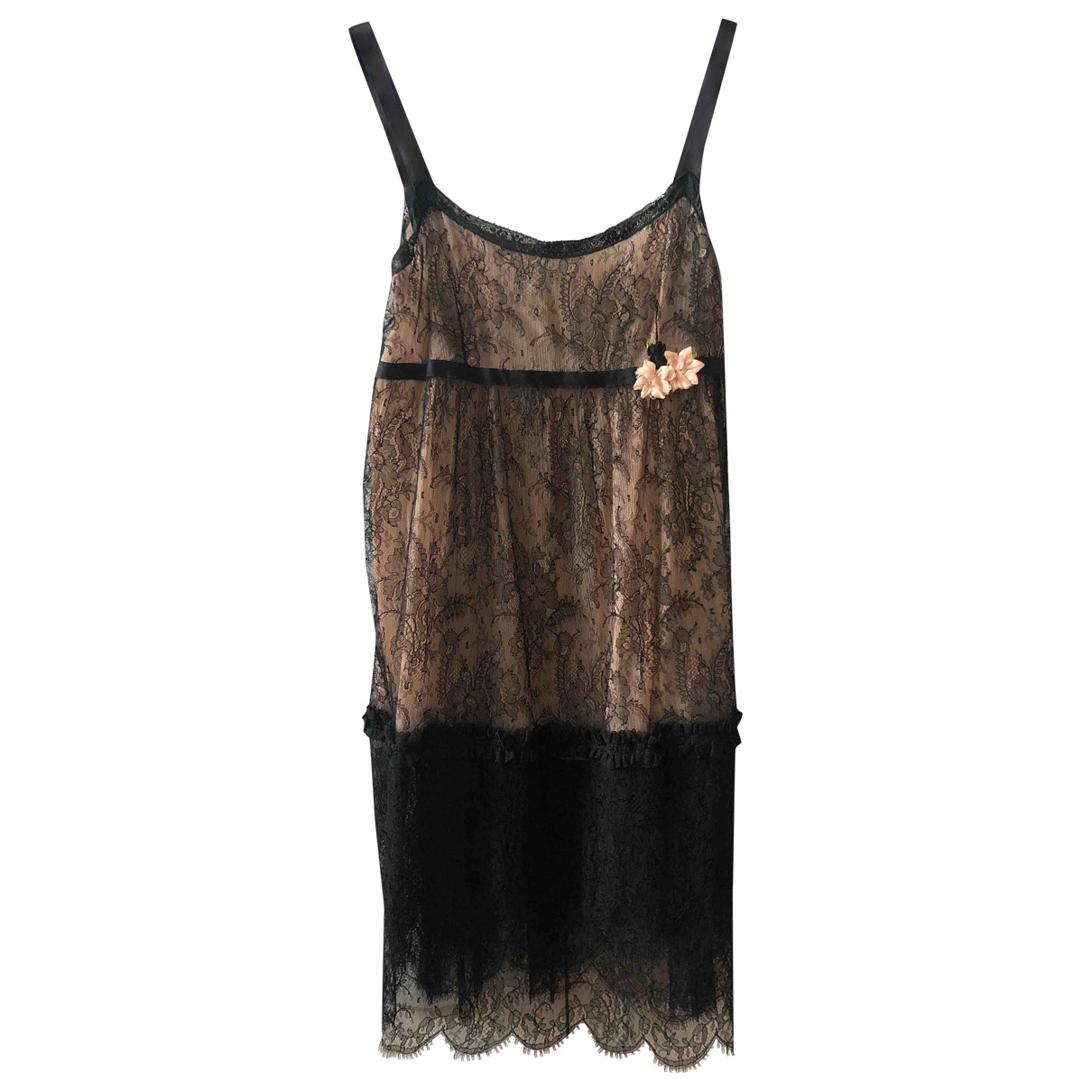 Anna Molinari \N Black Lace dress for Women 42 IT
