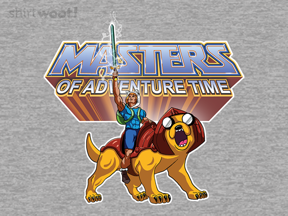 Masters Of Adventure Time T Shirt