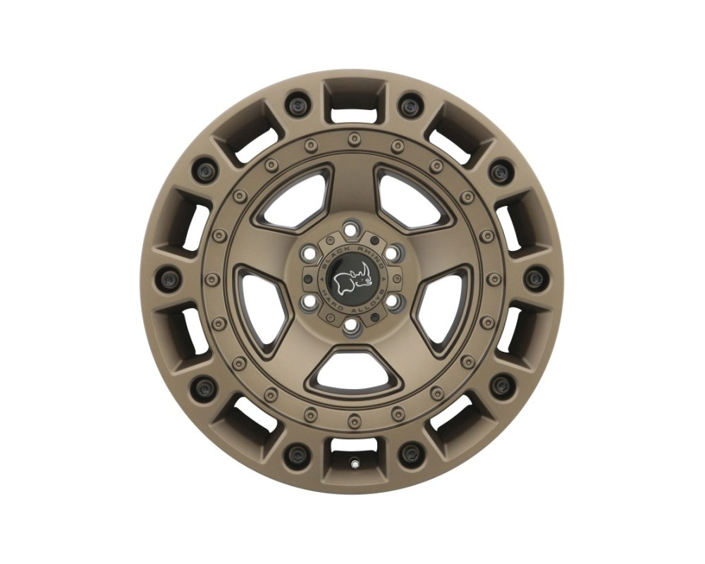 Black Rhino Cinco Bronze w/ Black Bolts Wheel 17x9.5 6x120 12mm CB67.1