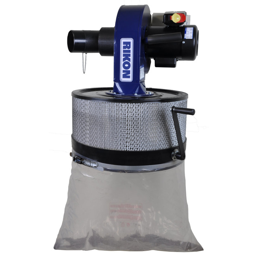 1HP Wall Mount Dust Collector