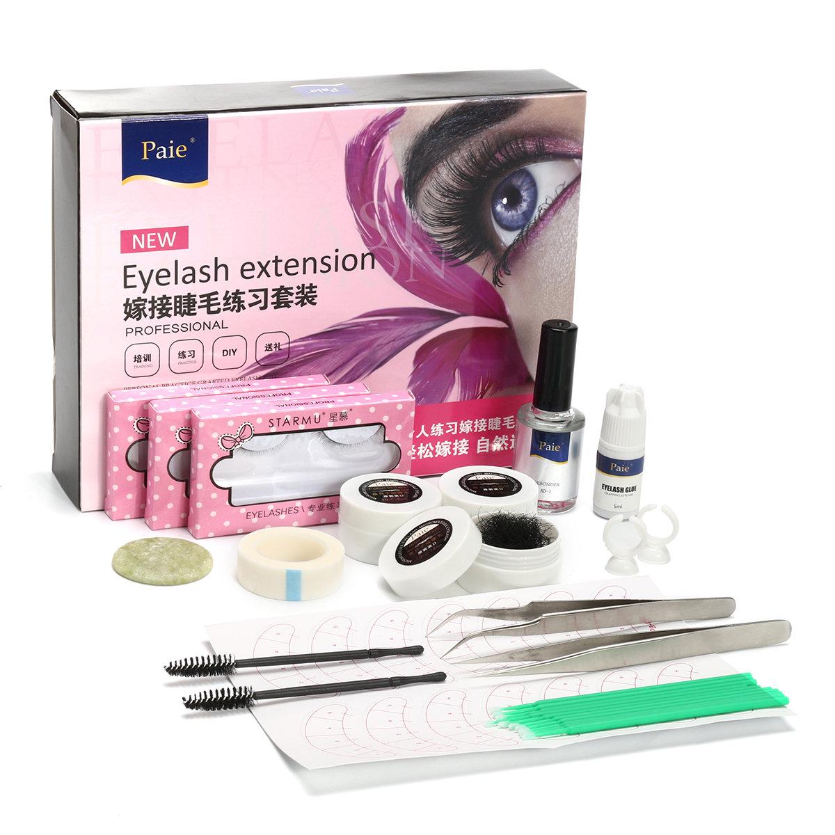 False Eyelashes Set Eyelash Planting Kit For Eyelash Curly Lengthening Eye Makeup Cosmetic