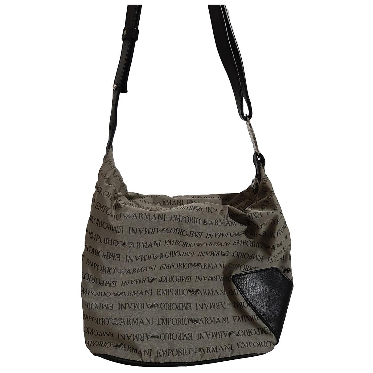 Emporio Armani \N Anthracite Cloth handbag for Women \N
