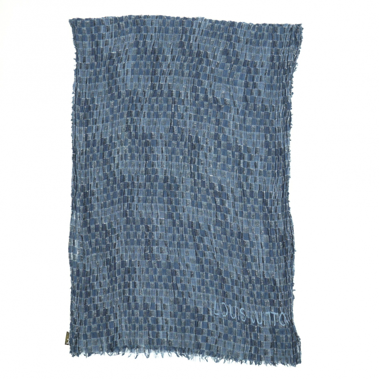 Louis Vuitton \N Blue scarf for Women \N