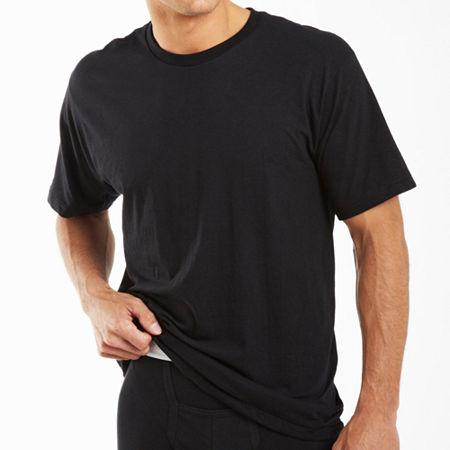 Jockey 2 Pack Classic Crew Neck T-Shirt - Big and Tall, 3x-large , Black