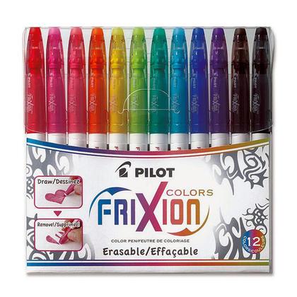 Pilot Pen Frixion@ effacable Coloration Marqueurs - pkg 12 181362