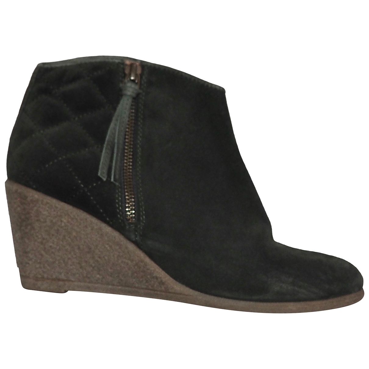 Sessun \N Green Suede Ankle boots for Women 37 EU