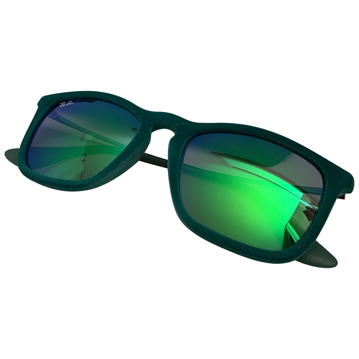 Ray-ban Original Wayfarer Green Metal Sunglasses for Men \N