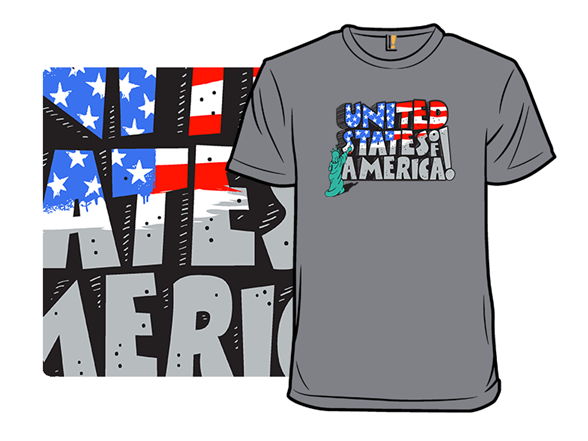 Usa Rocks T Shirt