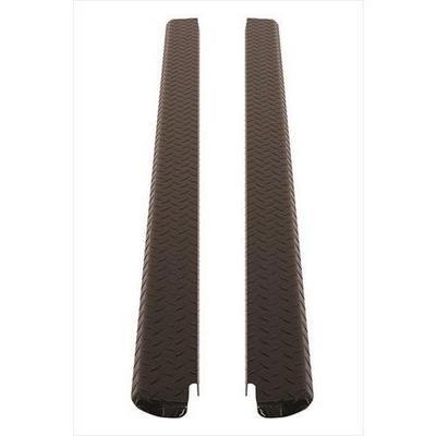 Dee-Zee Black-Tread Side Bed Caps - DZ11991B
