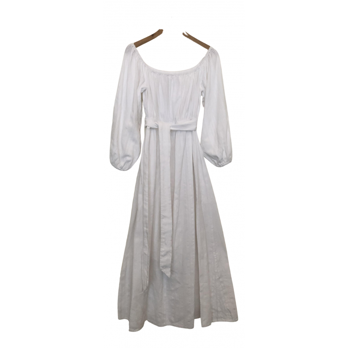 Mara Hoffman \N White Cotton dress for Women M International