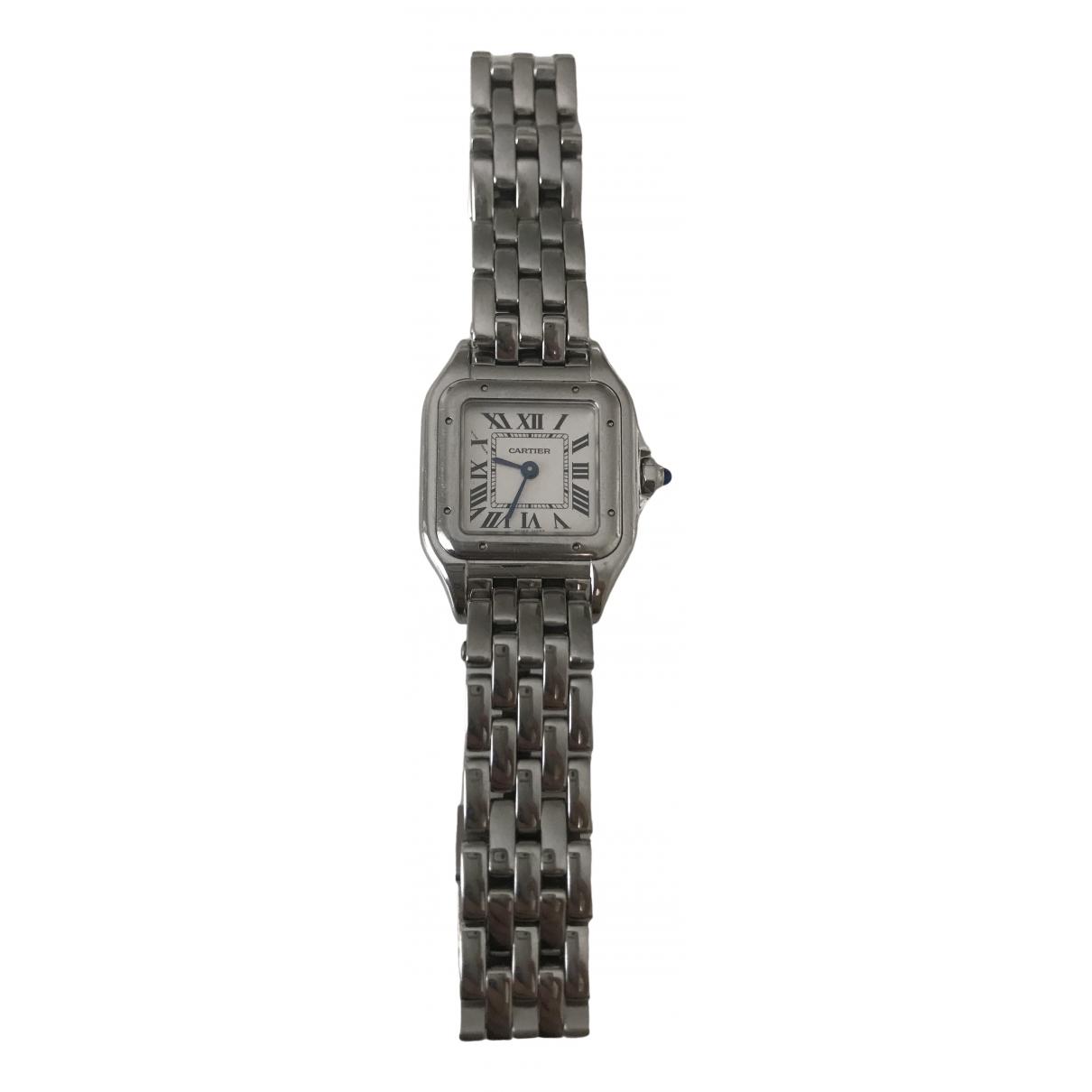 Cartier Panthère Silver Steel watch for Women \N