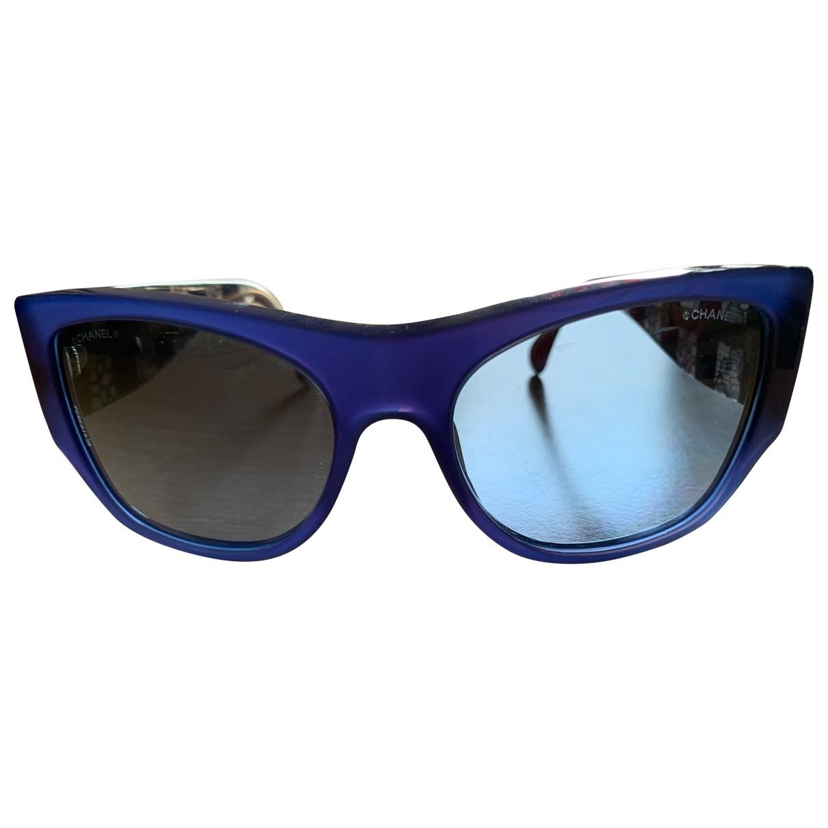 Chanel \N Blue Sunglasses for Women \N
