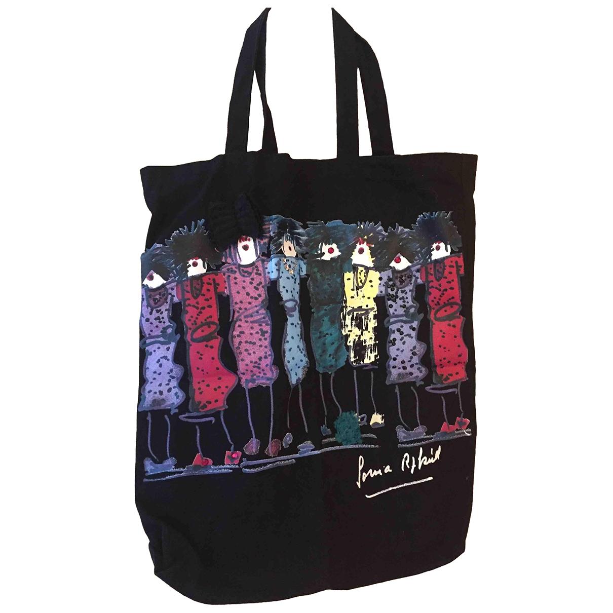 Sonia Rykiel \N Black Cotton handbag for Women \N