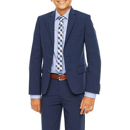 Van Heusen Little & Big Boys Suit Jacket, 14 , Blue
