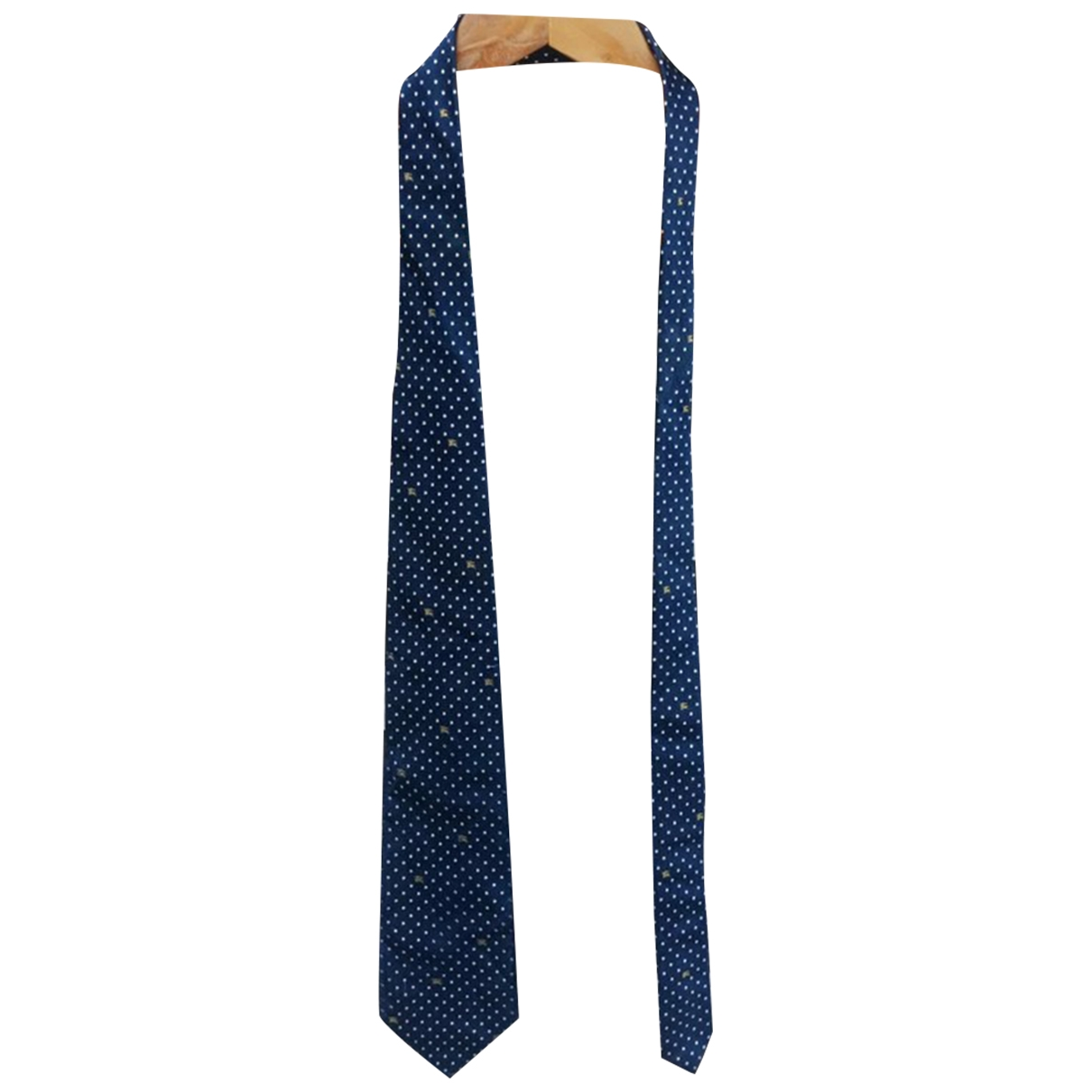 Burberry \N Blue Silk Ties for Men \N