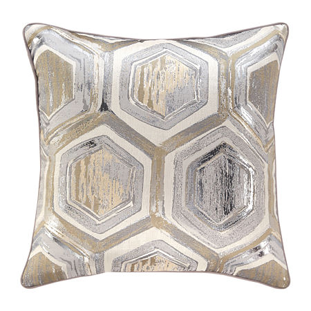 Signature Design by Ashley Meiling Square Throw Pillow, One Size , Gray