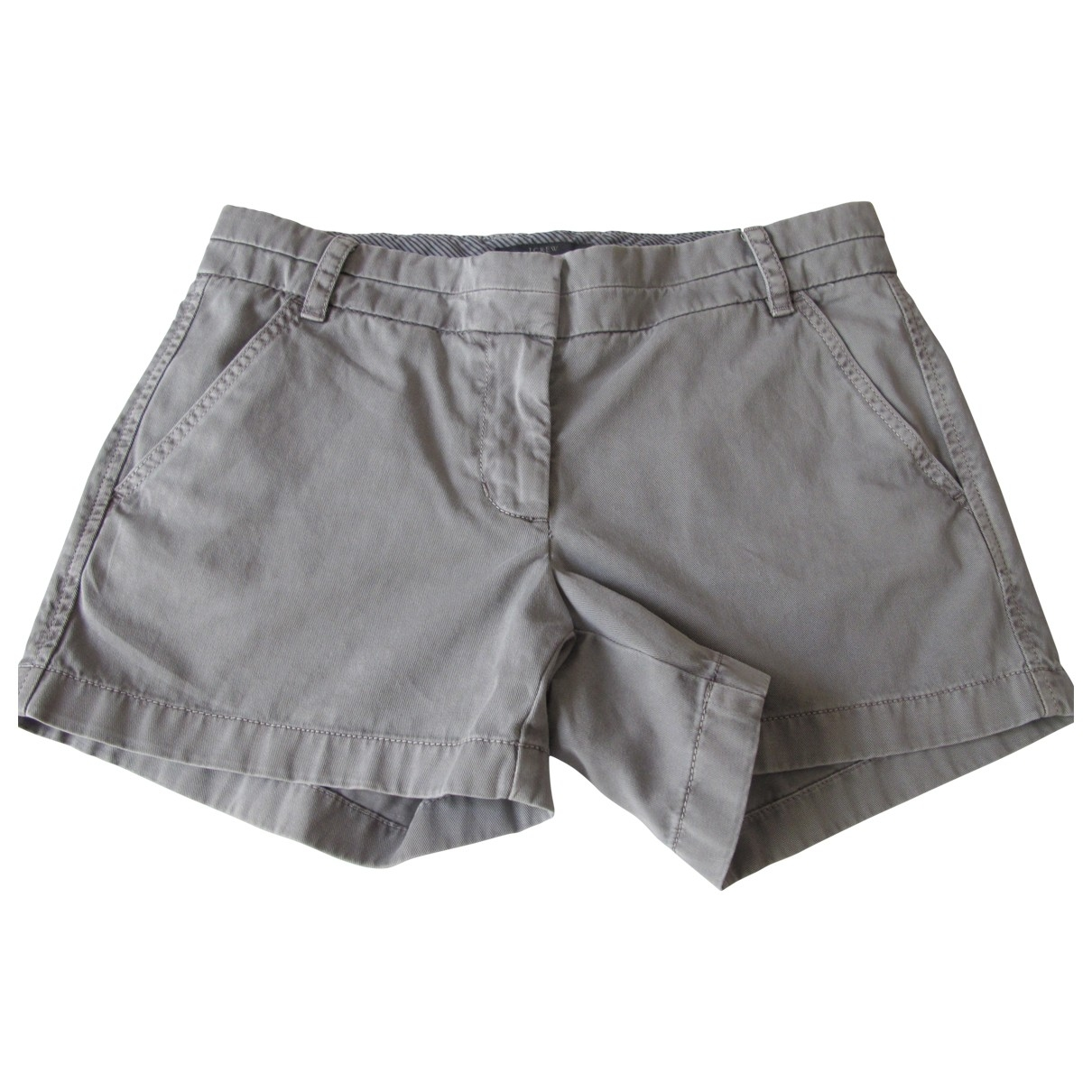 J.crew \N Grey Cotton Shorts for Women 4 US