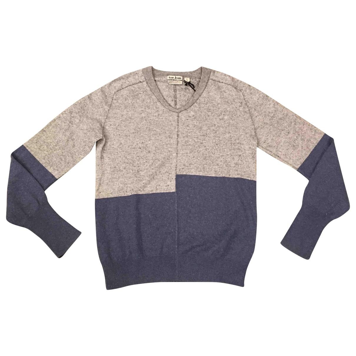 Acne Studios \N Grey Wool Knitwear & Sweatshirts for Men S International