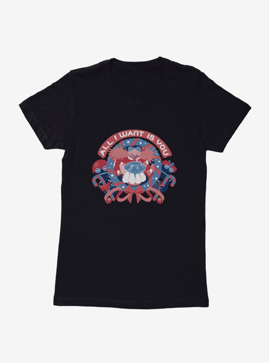Sonic The Hedgehog Winter All I Want Womens T-Shirt